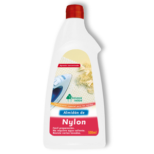 Bosque Verde almidon nailon de 50cl. en botella