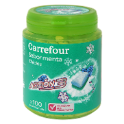 Carrefour chicles sin azucar