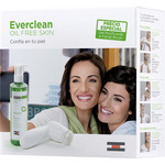 Isdin everclean oil free pack gel purificante cepillo limpieza facial