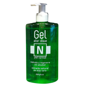 Deliplus after shave aloe vera piel normal con dosificador envase verde de 30cl. en botella