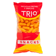 Trio snacks de queso de 110g.