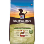 Hill's Ideal Balance adult alimento elaborado con ingredientes naturales perros adultos con pollo arroz envase de 2kg.
