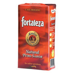 Fortaleza cafe molido superior natural de 250g.