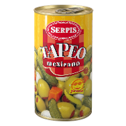 Serpis cocktail tapeo mexicano picante de 150g.