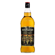 100 Pipers whisky de 1l. en botella