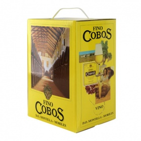 Cobos fino moriles bag in box disponible solo en de 5l.