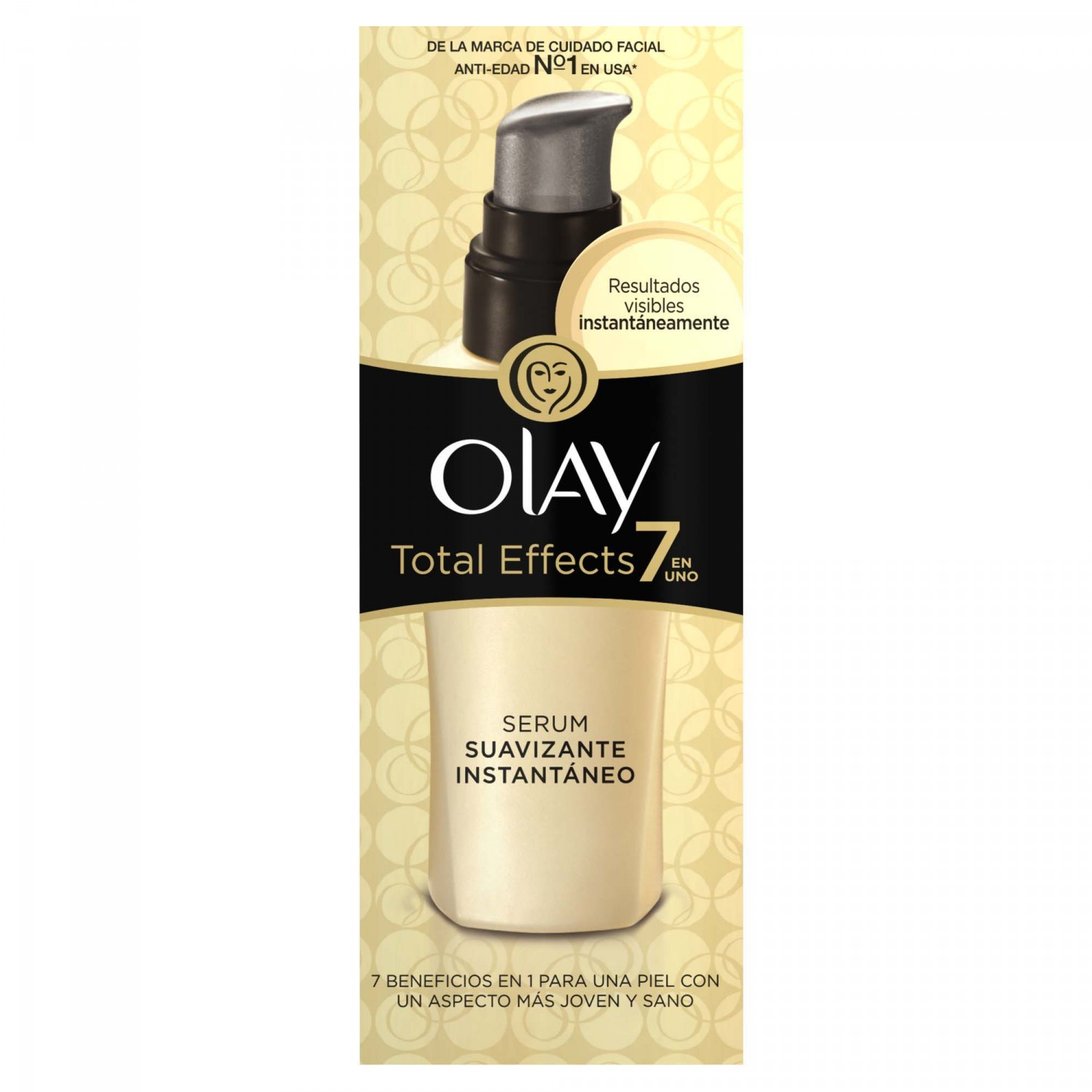 Olay total effects 7 en 1 serum suavizante instantaneo tubo de 50ml.