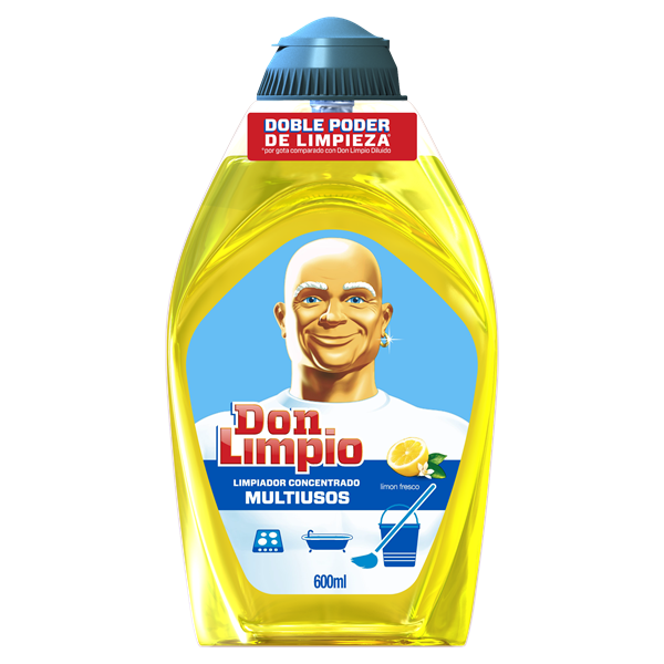 Don Limpio limpiador gel limon fresco de 60cl. en botella