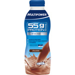 Multipower batido proteina sin carbohidratos sabor chocolate de 50cl. de 55g. en botella