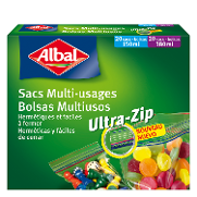 Albal multiusos ultra zip 40 de 38cl. en bolsa