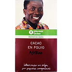 Intermón Oxfam chocolate soluble de 250g. en bote