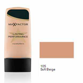 Max Factor base liquida lasting performance 105 soft beige