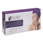 Belle turbante blanco secapelo 1u