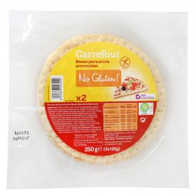 Carrefour base pizza de 250g.