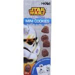 Star wars mini cookies de chocolate de 275g. en paquete