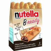 Nutella galleta b ready de 158g. en bolsa