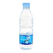 Carrefour agua mineral natural de 50cl.