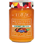 Hero mermelada melocoton temporada light de 335g.