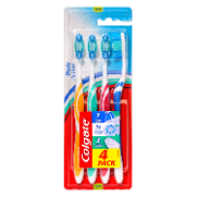 Colgate cepillo dental triple action medium por 4 unidades