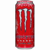 Monster bebida energetica ultra red de 50cl. en lata