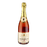Carrefour champagne brut rose exclusivo courance de 75cl.