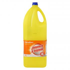 Carrefour Discount lejia normal de 5l. en botella