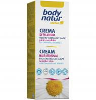 Body Natur crema depilatoria rostro de 50ml.