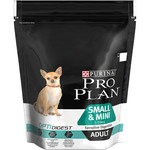 Purina Pro Plan adult small & mini alimento perros adultos raza mini con digestion sensible envase de 700g.