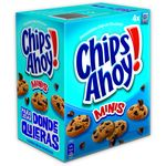 Chips Ahoy mini galletas con pepitas chocolate de 160g. en caja