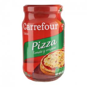 Carrefour salsa pizza al oregano de 260g.