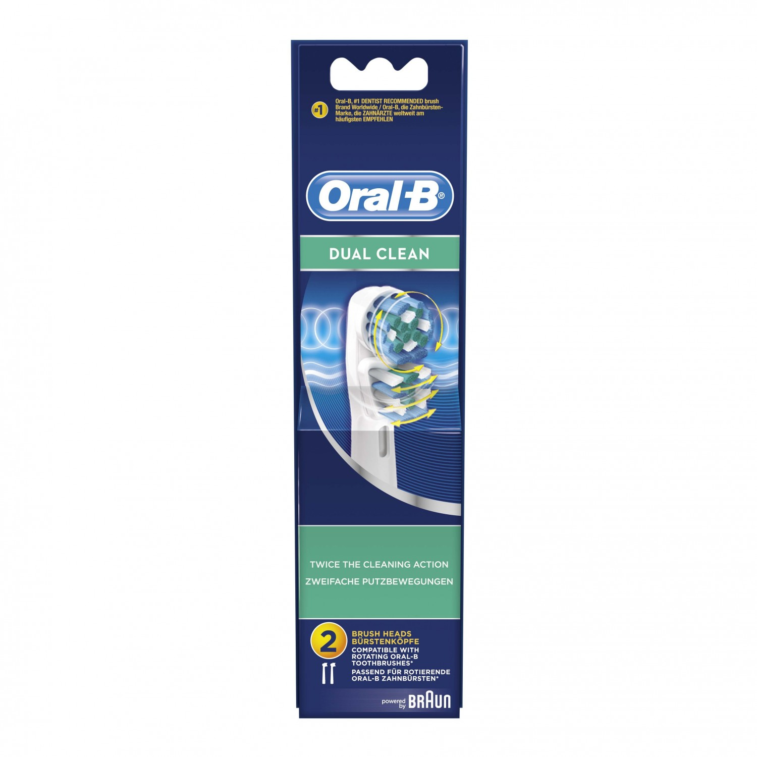 Oral B cepillo electrico dual clean ades 2