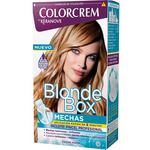 Colorcrem kit blonde box mechas incluye pincel profesional en caja