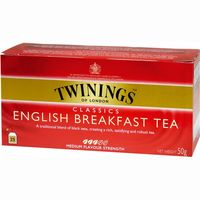 Twinings te english breakfast 25 en sobre