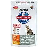 Hill's Science plan sterilised cat alimento especial gatos esterilizados con pollo de 1,5kg. en bolsa