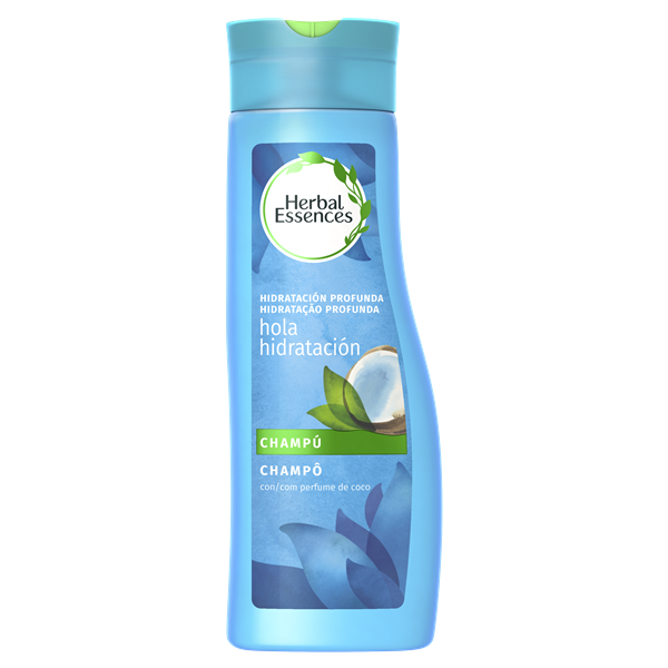 Herbal Essences champu hidratante con perfume coco de 40cl.