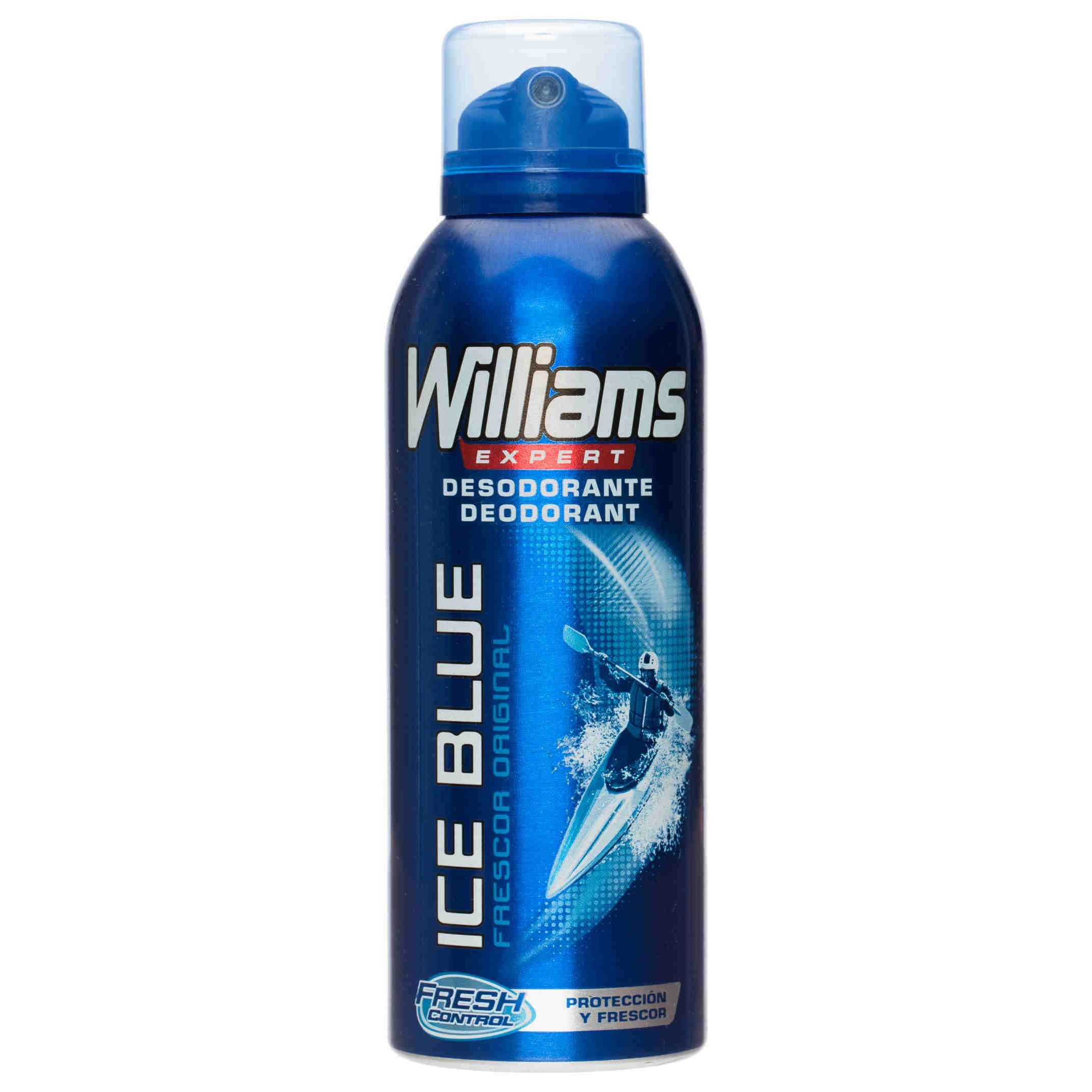 Williams desodorante ice blue de 20cl. en spray