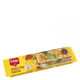 Schar cereal bar barrita cereales chocolate con leche envase de 25g.