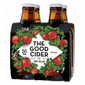 Sidra de manzana the good cider de 25cl. por 4 unidades