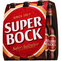 Super Bock alcohol de 33cl. por 6 unidades