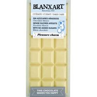 Blanxart chocolate blanco sin azucar tableta de 100g.