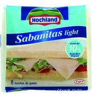 Sabanitas queso hochland light de 150g.