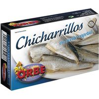 Orbe chicharrillo ac vegetal de 125g.