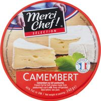 Merci Chef camembert cuña de 240g.
