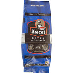 Areces cafe natural extra colombia en grano de 500g. en paquete