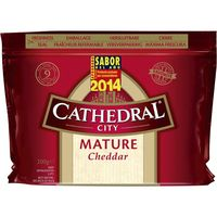 Cathedral City cheddar cathedral de 200g.