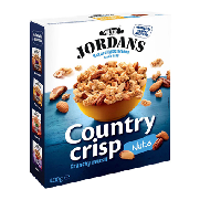 Jordan cereales frutos secos country crip de 400g.