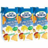 Don Simon funciona sabor tropical de 33cl. por 4 unidades