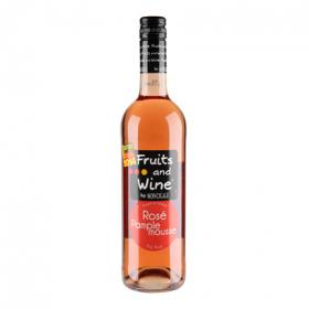 Fruits & wine cóctel rosado pomelo de 75cl. en botella