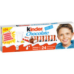 Kinder chocolate con leche 24 de 300g.