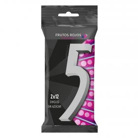 Five chicle celsius de 62g. por 2 unidades